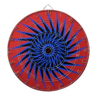 Spiral Burst1 Dartboard