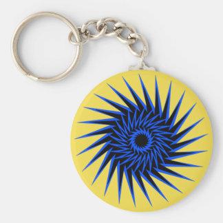 Spiral Burst1 Keychain