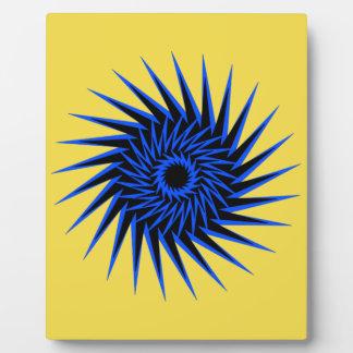 Spiral Burst1 Plaque