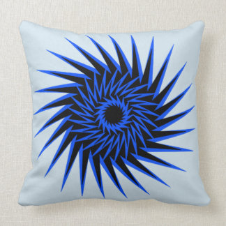 Spiral Burst1 Throw Pillow