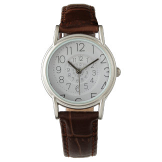 Spiral Clock Droste Watch