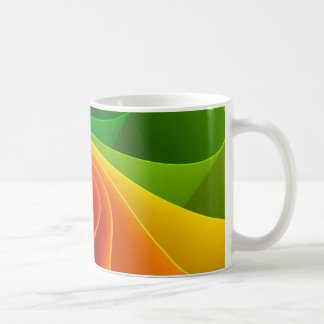 Spiral Colorful Coffee Mug