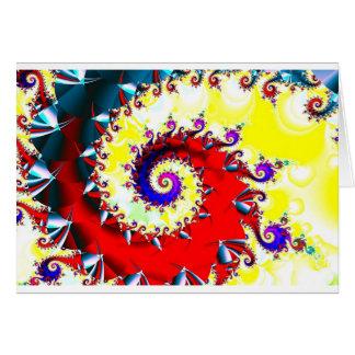 spiral dance (card) card