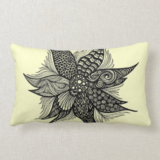 Spiral Flower Lumbar Pillow