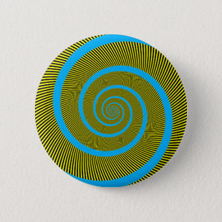 Spiral fractal art 2 inch round button