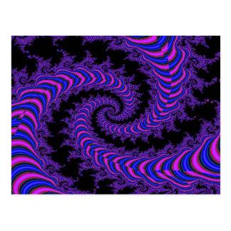 Spiral-fractal Postcard