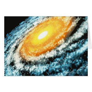 Spiral Galaxy 4 Card