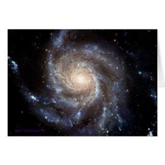 Spiral Galaxy - Blank Inside Card
