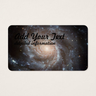 spiral galaxy business card