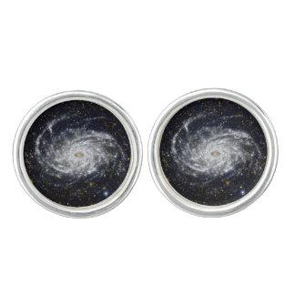 Spiral Galaxy Cufflinks