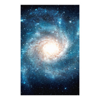 Spiral galaxy customized stationery