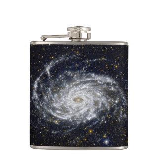 Spiral Galaxy Hip Flask