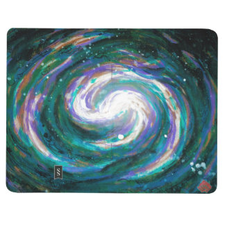 Spiral Galaxy in Space Journal