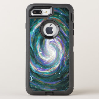 Spiral Galaxy in Space OtterBox Defender iPhone 8 Plus/7 Plus Case