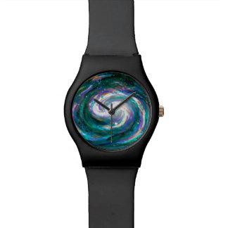 Spiral Galaxy in Space Watch