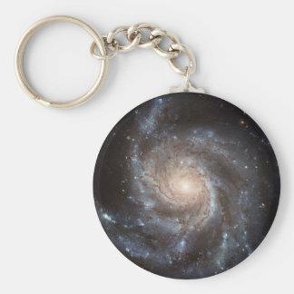 Spiral Galaxy Keychain