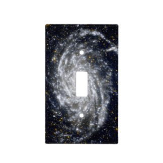 Spiral Galaxy Light Switch Cover