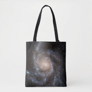Spiral Galaxy (M101) All-Over-Print Tote Bag