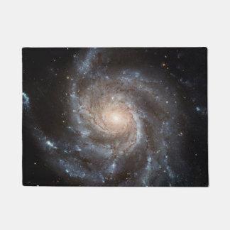 Spiral Galaxy (M101) Doormat