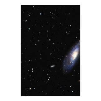 Spiral Galaxy M106 Custom Stationery