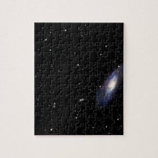 Spiral Galaxy M106 Jigsaw Puzzle