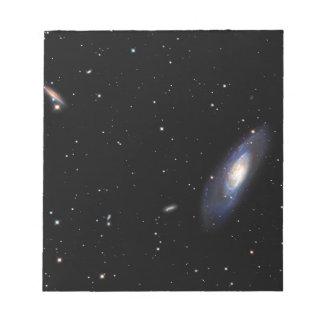 Spiral Galaxy M106 Notepads