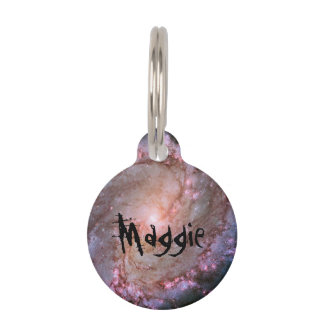 Spiral Galaxy M83 Pet Tags