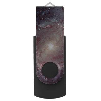 Spiral Galaxy Messier 83 USB Flash Drive
