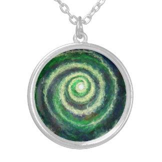 Spiral Galaxy Necklace