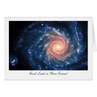 Spiral Galaxy NGC253 - Good Luck in Your Exams Card