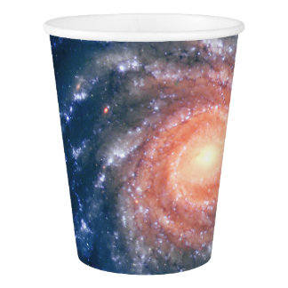 Spiral Galaxy NGC 1232 - Breathtaking Space Image Paper Cup