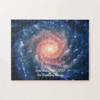 Spiral Galaxy NGC 1232 - Our Breathtaking Universe Jigsaw Puzzle