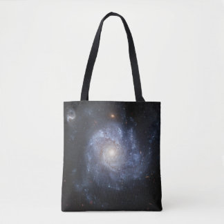 Spiral Galaxy (NGC 1309) All-Over-Print Tote Bag