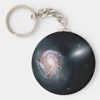 Spiral Galaxy NGC 4911 in the Coma Cluster Keychain