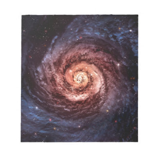 Spiral galaxy notepads