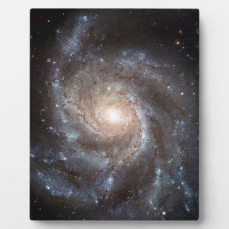 Spiral Galaxy Plaque