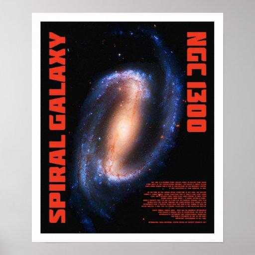 Spiral Galaxy Poster