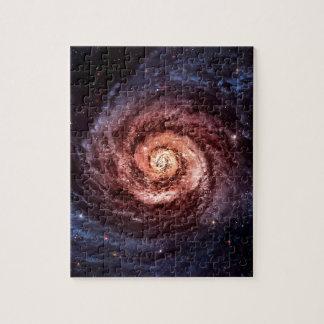 Spiral galaxy puzzle
