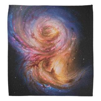 Spiral Galaxy SMM J2135-0102 Artist Impression Bandana