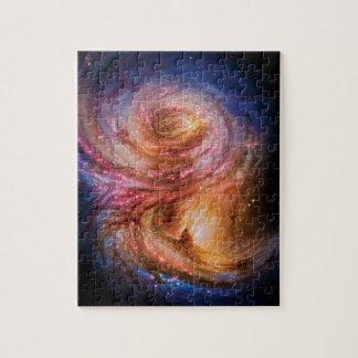 Spiral Galaxy SMM J2135-0102 Artist Impression Jigsaw Puzzle