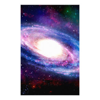 Spiral galaxy stationery