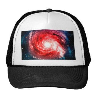 Spiral galaxy trucker hat