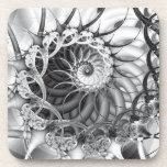 """Spiral Garden"" Coaster Set"