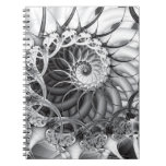 """Spiral Garden"" Notebook"