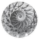 """Spiral Garden"" Plate"