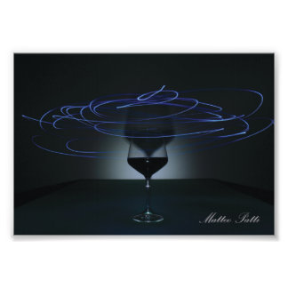 Spiral Glass Photo Print