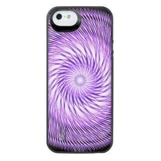 Spiral Illusion Mandala iPhone SE/5/5s Battery Case