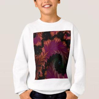 spiral leaf sweatshirt