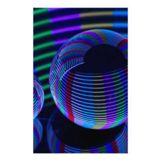 Spiral Lights In The Crystal Stationery