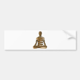 SPIRAL MEDITATION BUMPER STICKER